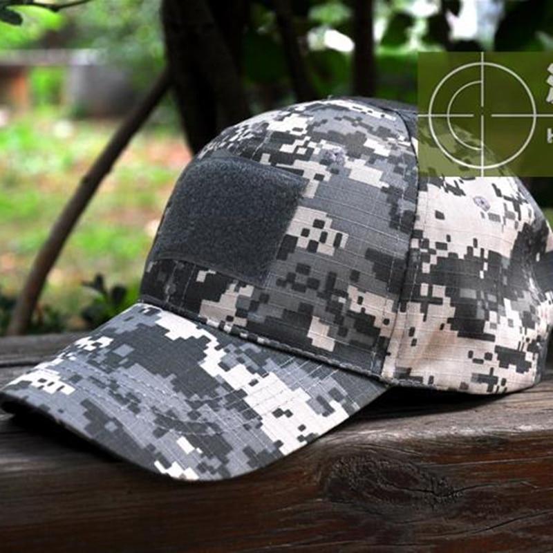 ACU Camouflage Tactical Caps Navy Hüte US-Marinesoldaten Armee Fans - Sportbekleidung und Accessoires - Foto 1