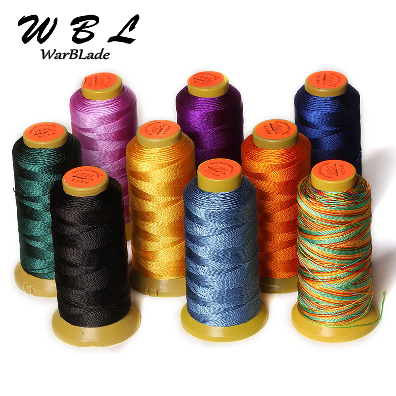 Polyamide Cord 0.2mm 0.4mm 0.6mm 0.8mm 1mm Nylon Cord Sewing Thread For Rope Silk Beading String For DIY Braided Jewelry Making
