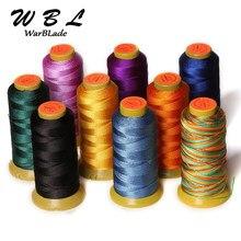 Cordón de poliamida para fabricación de joyas trenzadas, hilo de costura de nailon de 0,2mm, 0,4mm, 0,6mm, 0,8mm, 1mm