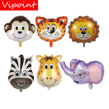 VIPOINT PARTY one set 45x64cm tiger deer lion foil balloons wedding event christmas halloween festival birthday party HY-164