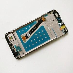 Image 5 - 100% testé nouveau 5.6 pouces pour Huawei P Smart FIG LX1/FIG L21 plein écran LCD + écran tactile numériseur assemblée avec cadre