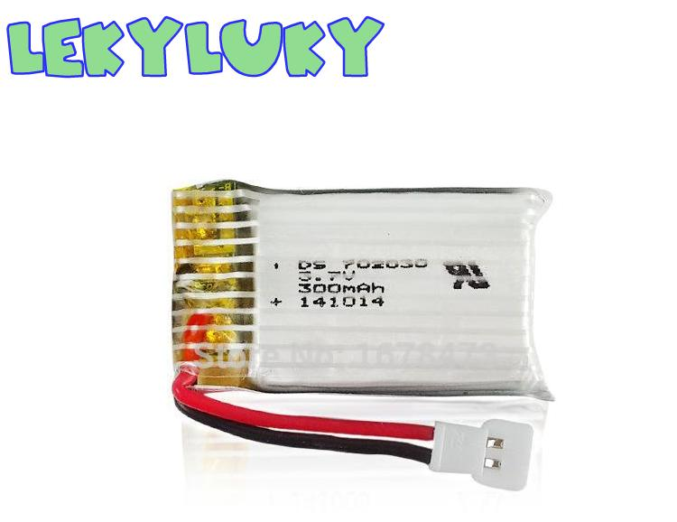 LEKYLUKY U816A 1306 F180 2.4G RC quadcopter spare parts <font><b>3.7V</b></font> <font><b>300Mah</b></font> lithium <font><b>battery</b></font> image