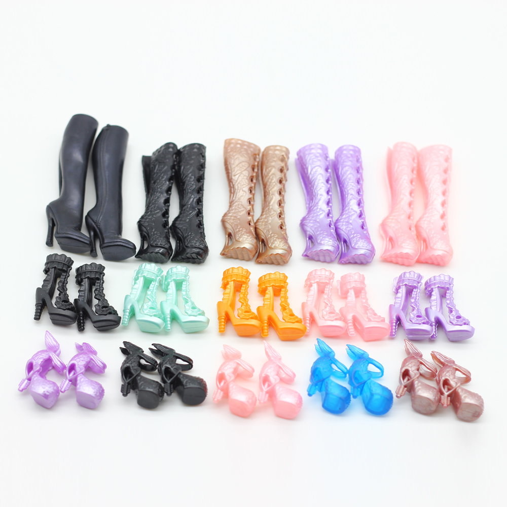 1 Pair Shoes fit Monster High Doll s Shoes Chose You Like Style Doll shoes for
