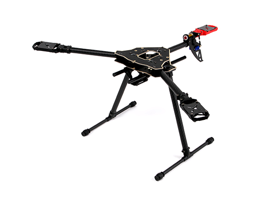 Titus 600 Carbon Fiber Tri copter Frame With Integrated PCB-in Parts ...