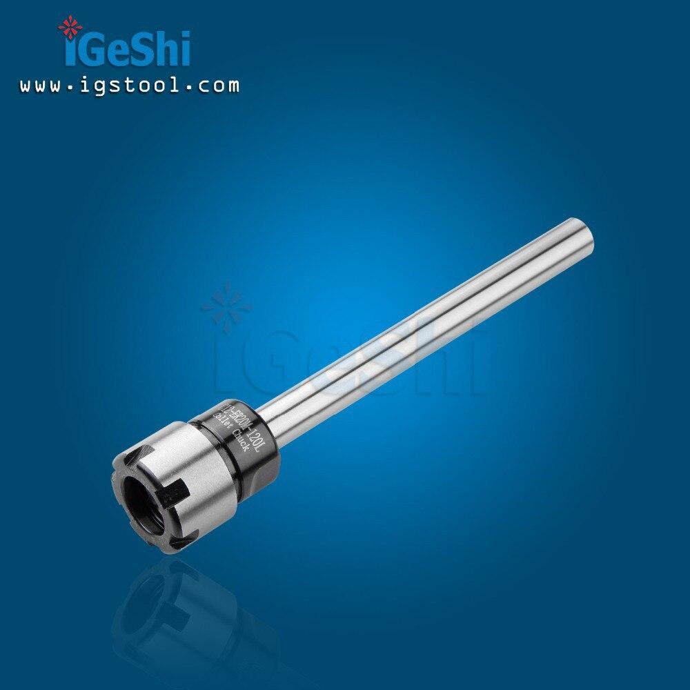 Купить с кэшбэком New 1pcs C12 ER16M 120 Straight shank tool holder