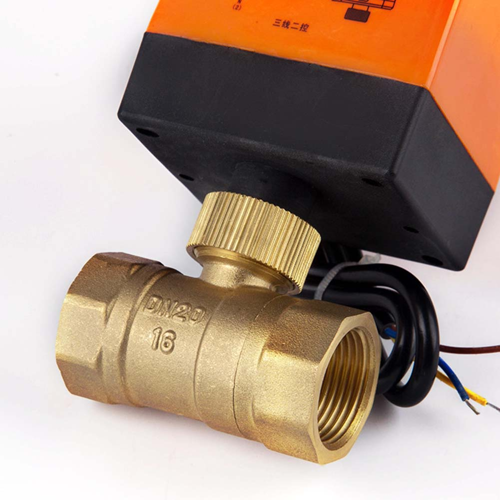 Newest 220V Electric Ball Valve Actuator Brass Waterproof Motorized Cold  Hot Water Vapor-in Valve from Home Improvement on Aliexpress com | Alibaba