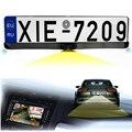 Высокое Качество 170 Европейский Автомобиль Номерного знака Рамка Авто Обратный Заднего Вида Камеры С Двумя Датчики Парковки Реверсивный Радар