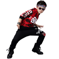 Spring And Autumn Kids Clothes Kids Hip Hop Clothing Kids Suit Camouflage Hooded Long Shirt Pants