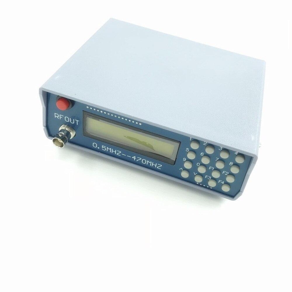 FM Radio walkie talkie debug 0 5Mhz 470Mhz RF Signal Generator Meter Tester