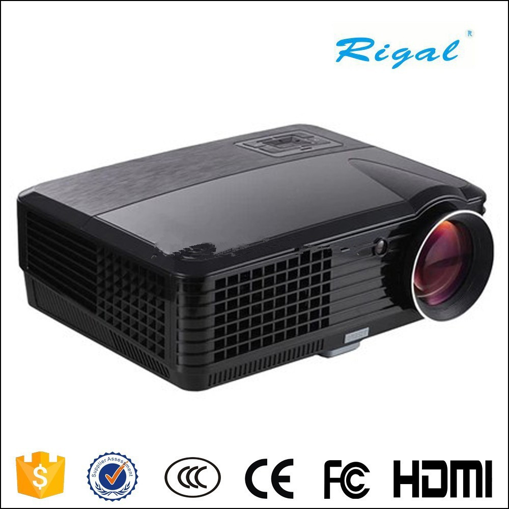 RD 801C 800 480 2000lumens support 720P 1080P Home Theater LCD Projector LED With Built in