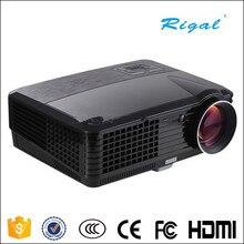 RD-801C 800*480 2000 lúmenes soporte 720 P/1080 P de Cine En Casa LCD Proyector LED Con Una Función de Android 4.2 de la Ayuda 1080 P 3D