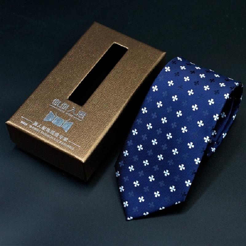 20colors Mens dress business 7cm ties Casual black narrow stripes slim Wedding Ties Fashion Pink Navyblue dot strip Neckties