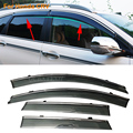 Car Stylingg Awnings Shelters 4pcs/lot Window Visors For Honda CRV 2007-2016 Sun Rain Shield Stickers Covers