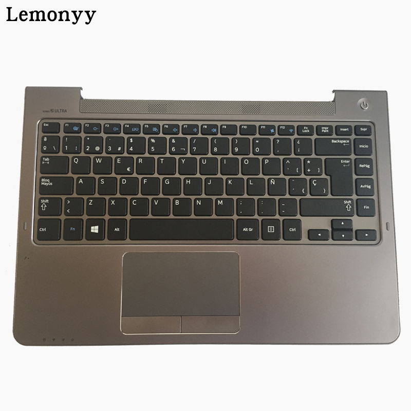 SP keyboard for FOR Samsung NP530U4B NP530U4C NP535U4C NP530U4BI 530U4 NP530U4 530U4B NP520U4C Spanish Laptop keyboard gray