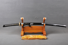 Delicate  HOLLOWEEN Decoration Sharp Knife Home Metal Decoration Japanese Samurai Sword  1060 Carbon Steel Blade Katana