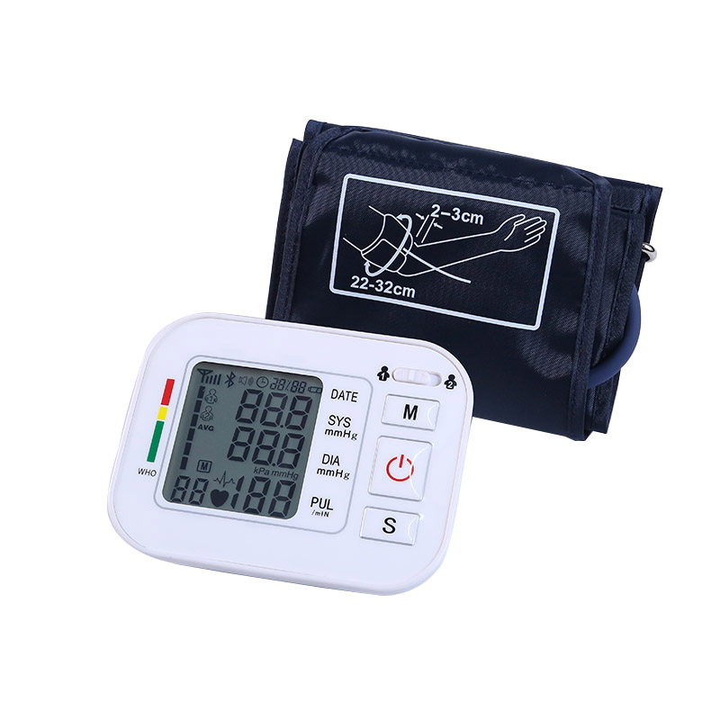 ZOSS LED digital display sphygmomanometer Arm type automatic electronic Blood Pressure monitor English home health detector