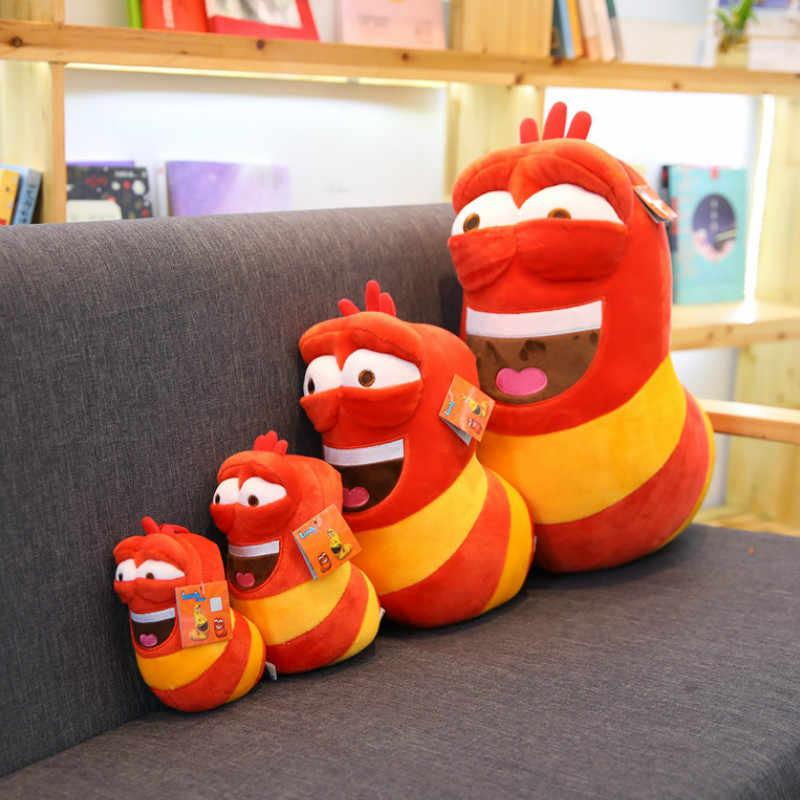 Милые плюшевые насекомые слизни личинка игрушки плюшевая кукла для детей Забавные игрушки червя подарок на день рождения ребенка 3 цвета мягкая игрушка