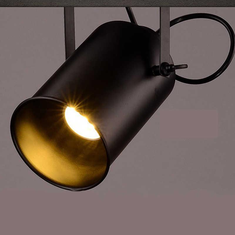 Винтаж Утюг Лофт Промышленные открытый прожекторы Регулируемая люстра магазин одежды освещение кофе дом/бар/Mall подвесной светильник