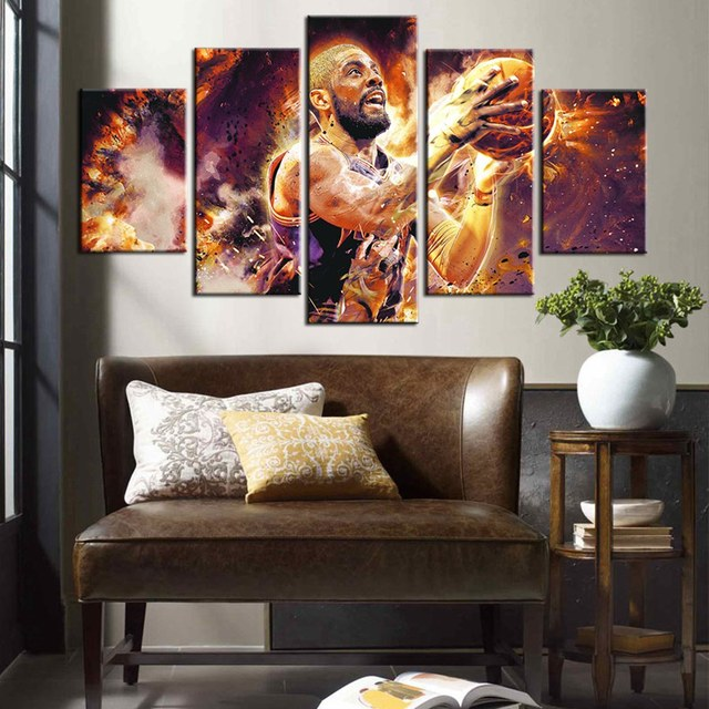 Custom Artwork Kyrie Irving Cleveland Cavaliers Basketball Sport