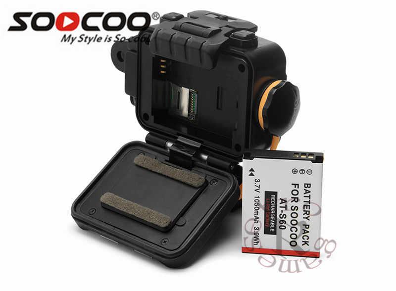 SOOCOO S80 экшн Камера Водонепроницаемый 20 m Встроенный WI-FI Спортивная водоотталкивающая Камера GoPro 1080 P videostarlight Ночное Видение Поддержка внешний микрофон
