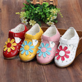 High Quality 2017 New Summer Baby Shoes Girls Kids Genuine Leather Sandy Beach Shoes Kids Sandals Soft Flat Shoe Sole 0-2y