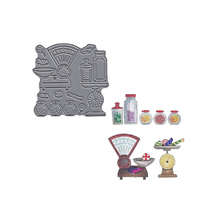 Candy Shop Metal Cutting Dies Stencils For DIY Scrapbooking Decorative Embossing Suit Paper Cards Die Template 2019