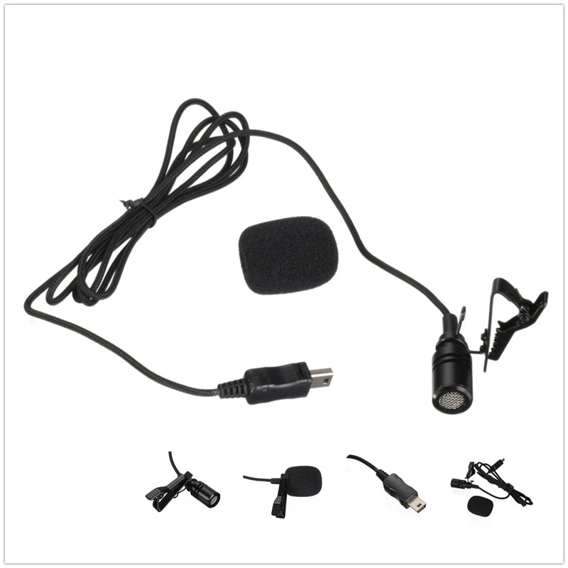 Gopro Accessories Professional Stereo Usb Microphone Adapter For