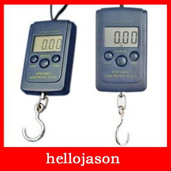 7018 Digital Handy Scales Luggage Fishing 40kg 88Lb 1410oz