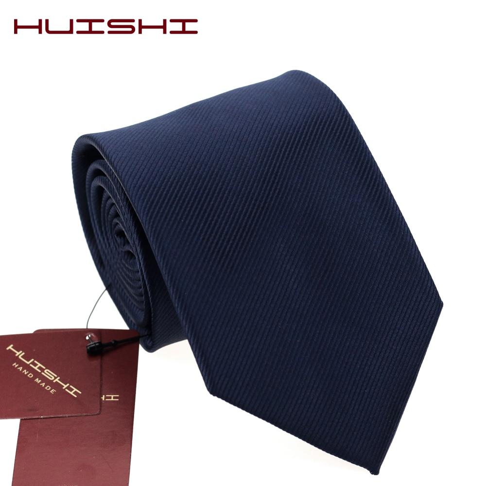 HUISHI 2019 New Classic Designs Men Ties For Men Business Formal Wedding Tie 8cm And 6cm Necktie Fashion Shirt Dress Accessories