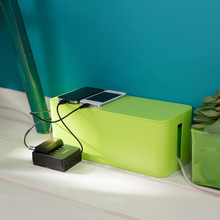 купить Large wire storage box, cable management, sockets, flapper, cable organizer boxes, computer lines, power box set Finishing Box по цене 738.5 рублей