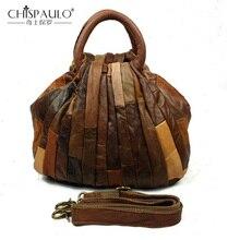Новая мода Большой Ёмкость Для женщин сумка из натуральной кожи Для женщин сумка из коровьей кожи сумка Повседневное лоскутное роскошная сумка