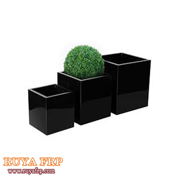 Fiberglass outdoor flowerpotclassic blackgrey colorsquare outside fiberglass outdoor flowerpotclassic blackgrey colorsquare outside planters workwithnaturefo