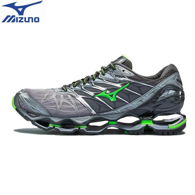 half off 6626e 40d23 Original MIZUNO WAVE PROPHECY 7 for men Cushion Running Shoes Stable Sports  Shoes Breathable Sneakers J1GC180037