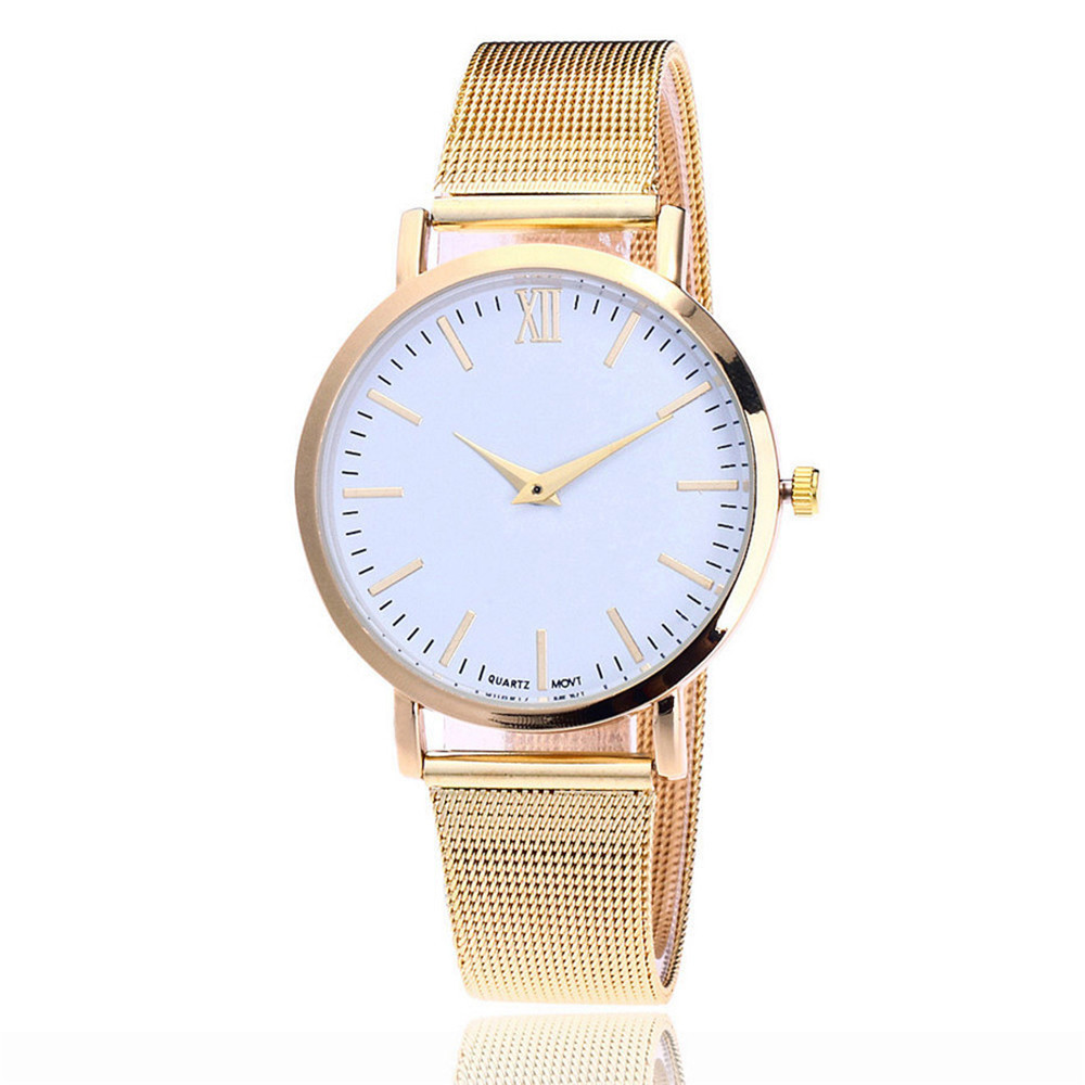 Lover's Watches Chic Quartz Analog Wrist Delicate Alloy Luxury Business bayan kol saati montre femme couleur argent bayan saat