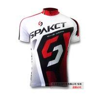 Liquidation 100% Polyester D'été À Manches Courtes Vélo Vélo Jersey Vélo Vêtements Vélo Vêtements Chemise de Sport