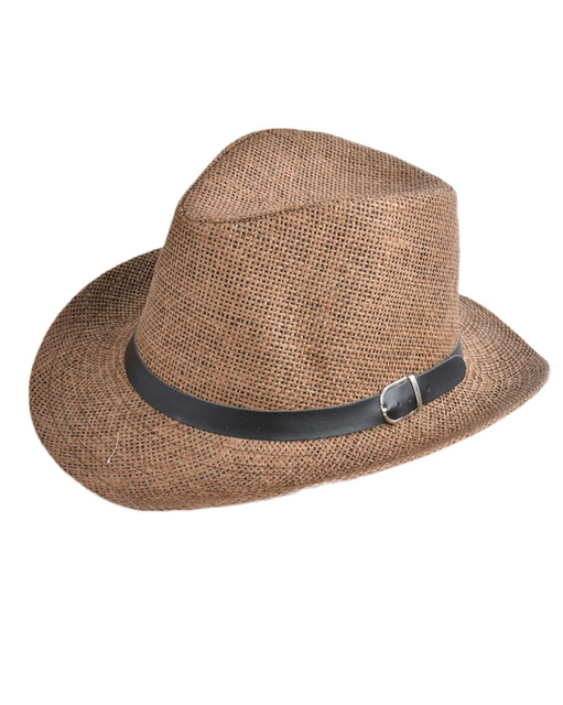 e0b88e4139ce2 2019 Summer Panama Sun Hats For Men Fashion Bucket Hat Solid Color Jazz  Straw Hat Women Beach Caps Sombreros Hombre Verano