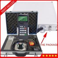Digital Portable Ultrasonic Water Flowmeter TDS 100H DN50~700mm Liquid Flow Meter M2H High Temperature Medium Transducer