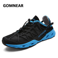 GOMNEAR New Men Sports Running Sneakers Outdoor Walking Unisex Trekking Jogging Breathable Cool Athletic Chassures Lovers