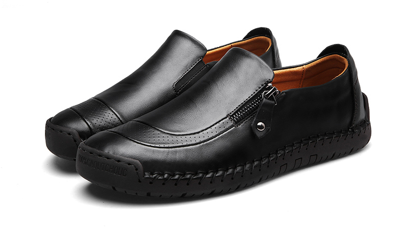 HTB1SCSyaoLrK1Rjy1zbq6AenFXaQ Classic Comfortable Casual Leather Shoes Men Loafers Shoes Split Leather Men Shoes Flats Hot Sale Moccasins Shoes Plus Size