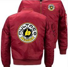 Nuevo BULTACO CEMOTO Dropshipping. exclusivo. nueva chaqueta de bombardero  vuelo chaqueta de invierno espesar 50f638b388468