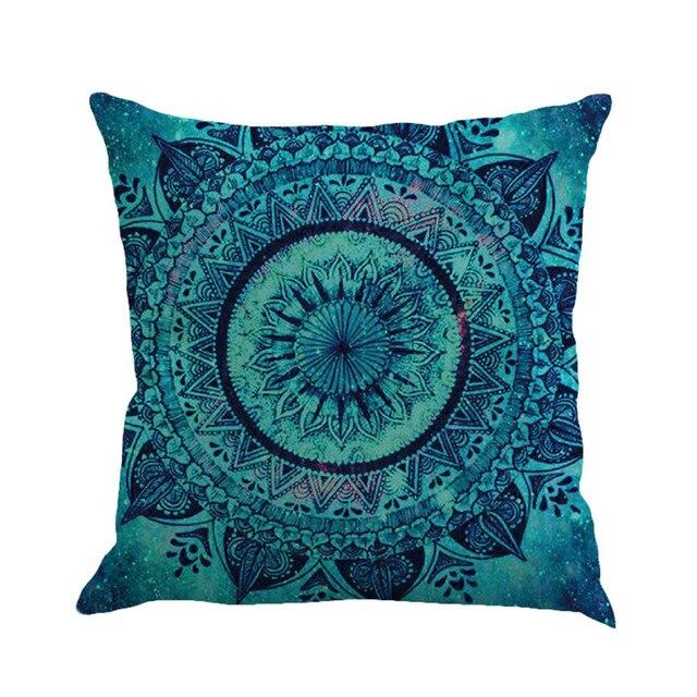 الهندسة اللوحة متعدد الألوان غطاء من الكتان للوسائد 45 سنتيمتر * 45 سنتيمتر مريحة أريكة غطاء مسند كنبة مربّع السرير ديكور المنزل
