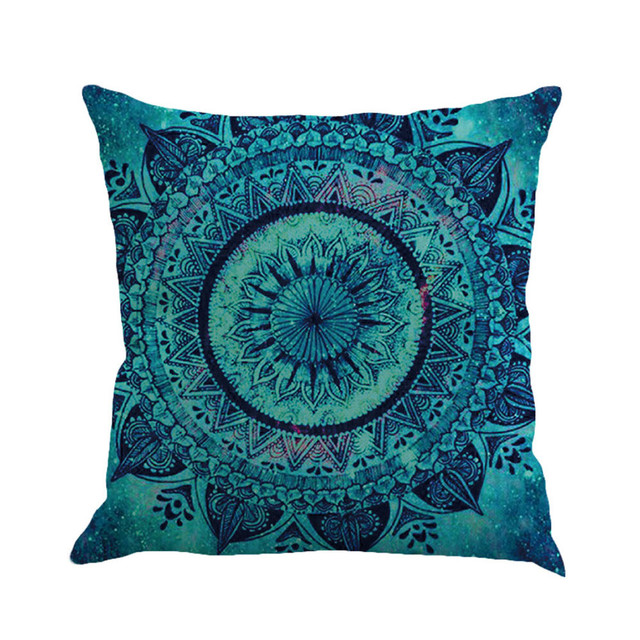 Geometry Painting Multicolor Linen Cushion Cover 45cm*45cm Comfortable Sofa Square Throw Pillow Cover Bed Home Decoration