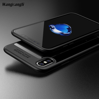 Wangcangli Advanced New For Iphone X Case Ultra Thin Protective Transparent Backplane Phone Cases Cover Soft