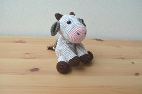 Amigurumi Crochet Fashion  Baby Cow