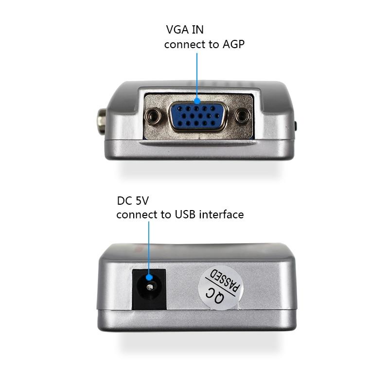 VGA to AV 2-1-800