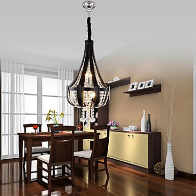 American Luxury Leather Droplight Crystal Chandelier LED Light Fixtures For Living Dining Room Hanging Lamp Home Lighting modern crystal chandelier led hanging lighting european style glass chandeliers light for living dining room restaurant decor