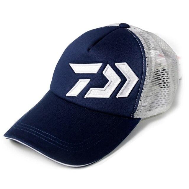 Adjustable Cycling Cap Sport Baseball Hat Fishing Hat Sunproof Mesh Super Light  Cap For Climbing Trekking 598193ae851