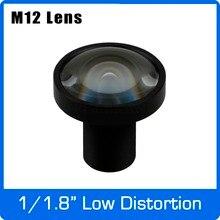 3Megapixel Fixed 1/1.8 Inch 4.2 Mm Lage Vervorming F1.8 Lens Voor Sony IMX185 Hd 1080P Ip Camera Ahd Cctv Camera Gratis verzending