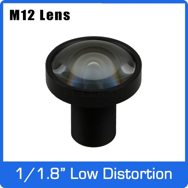 3Megapixel Fixed 1/1.8 inch 4.2mm Low Distortion F1.8 Lens For SONY IMX185 HD 1080P IP Camera AHD CCTV Camera Free Shipping