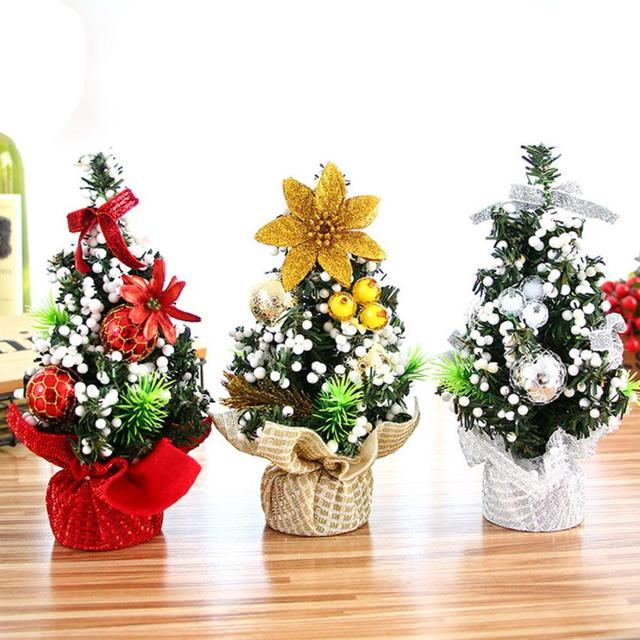 Feliz navidad rbol dormitorio escritorio decoraci n for Adornos de navidad para oficina